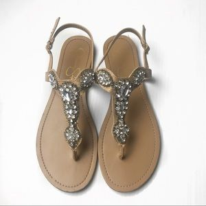 Jessica Simpson JP-Baily embellished sandal